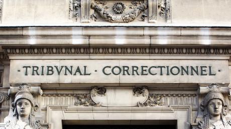 Façade du tribunal correctionnel de Paris