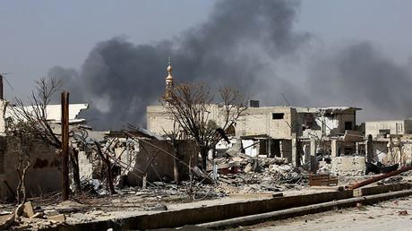Moscou accuse les rebelles d'avoir attaqué un convoi de 300 familles cherchant à fuir la Ghouta