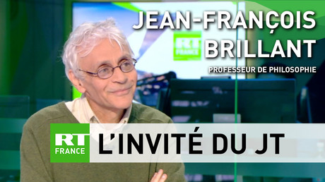 Jean-François Brillant était l'invité du JT de RT France