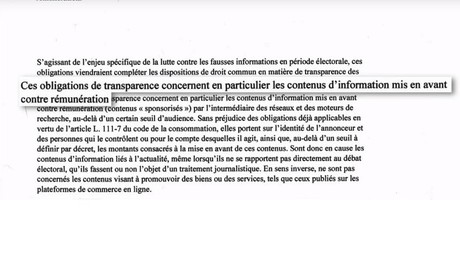 «Forme de censure» : le Syndicat national des journalistes inquiet de la loi «fake news» (REPORTAGE)
