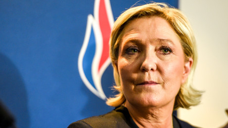 Marine Le Pen, dirigeante du Front national