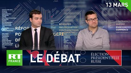 Deux invités politiques PS et LR débattent du scrutin russe pour RT France (VIDEO)