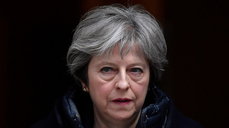 Le Premier ministre Theresa May