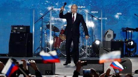 Vladimir Poutine à ses soutiens en Crimée : «Vous avez rétabli la justice historique»