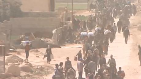 Evacuation des civils de la Ghouta orientale