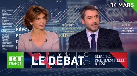 Débat sur RT France : Relations Russie-USA, quels enjeux pour la présidentielle ?