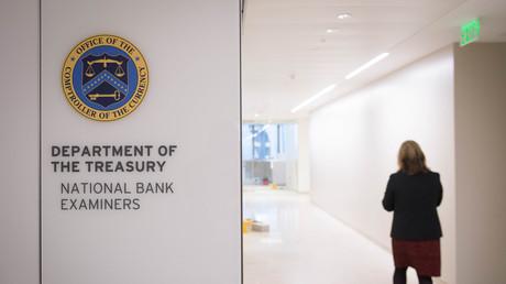 Dans les bureaux du Trésor américain. (image d'illustration)