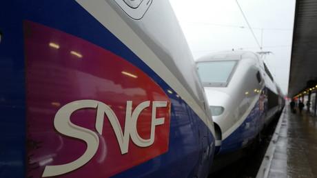TGV en gare
