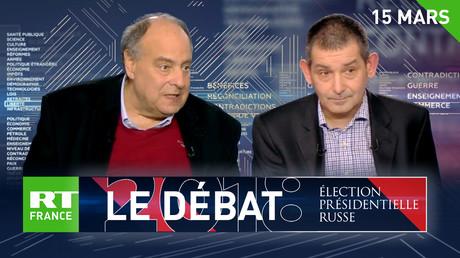 Débat sur RT France : la lutte contre le terrorisme, enjeu de la présidentielle russe ?