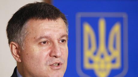 Arsène Avakov, le ministre de l'Intérieur ukrainien, en janvier 2015