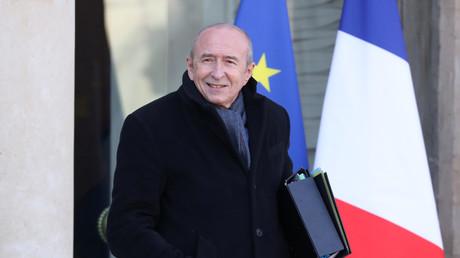 Le ministre de l'Intérieur Gerard Collomb