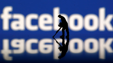 Illustration : le logo de Facebook