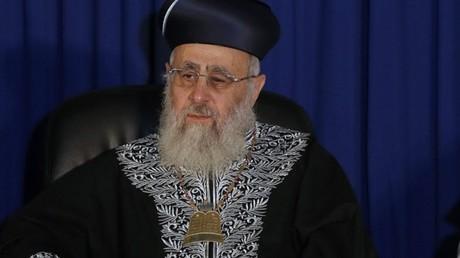 L'étrange parallèle du grand rabbin séfarade d'Israël entre Noirs et singes