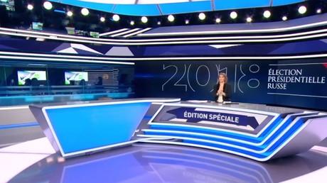 La paille et la poutre : quand les médias français critiquent la couverture présidentielle de RT