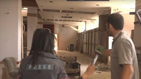 Au cœur d'un ex-poste de commandement d'al-Nosra dans la Ghouta orientale (REPORTAGE)