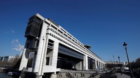 Ministère de l'Economie et des Finances à Paris (France).