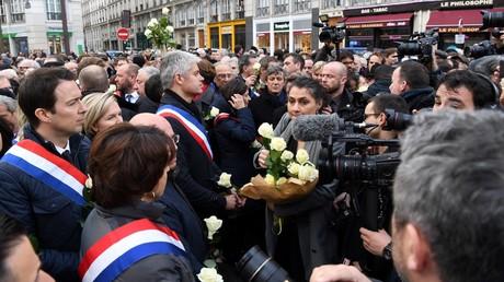Plusieurs personnalités politique s'apprêtent à défiler à Paris en mémoire de Mireille Knoll, photo ©ALAIN JOCARD / AFP