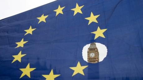 Drapeau européen (image d'illustration)