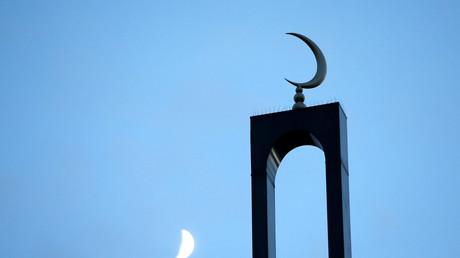 Minaret de la mosquée de Créteil. Image d'illustration
