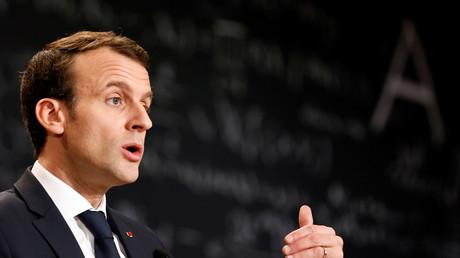 Emmanuel Macron, le 29 mars