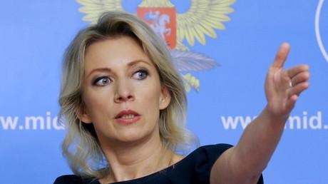 Maria Zakharova, la porte-parole du ministère russe des Affaires étrangères