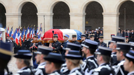 Hommage au colonel Arnaud Beltrame le 28 mars