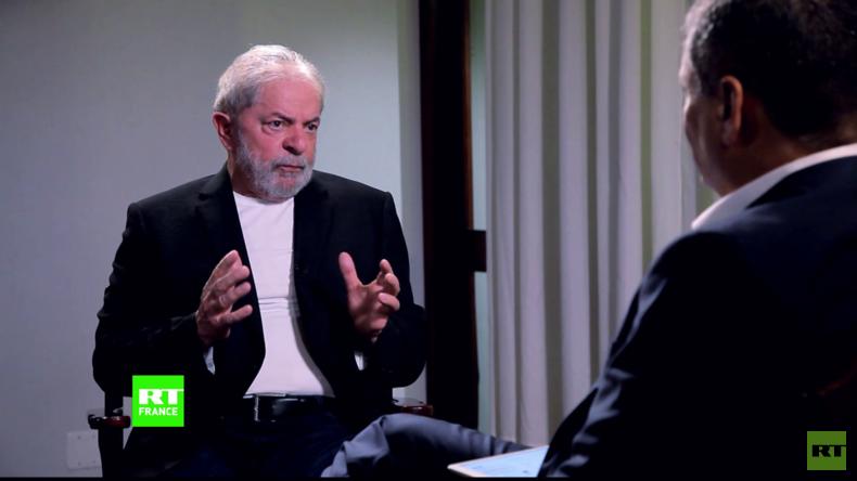 Entretien exclusif avec Lula: «Les Etats-Unis ne veulent pas d'une Amérique latine forte» (VIDEO)