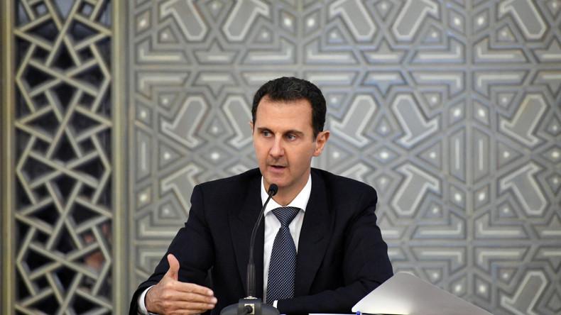 Selon Bachar el-Assad, l'Occident frappe parce qu'il a perdu tout contrôle et toute crédibilité