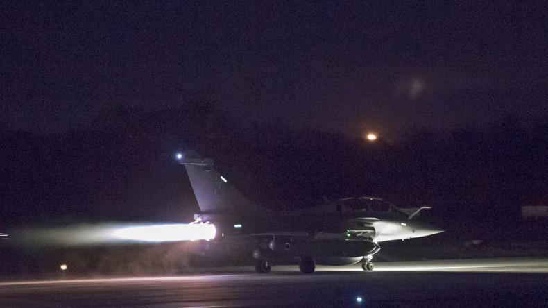 Combien ont coûté les frappes françaises en Syrie ?