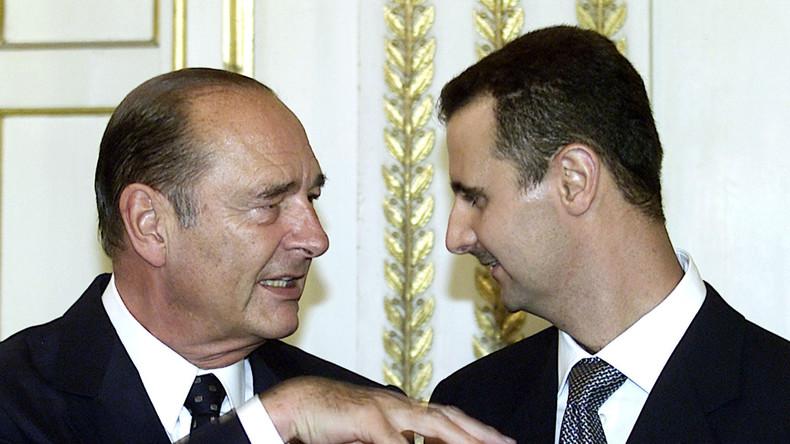 Bachar el-Assad rend sa légion d'honneur à la France, «esclave» des Etats-Unis