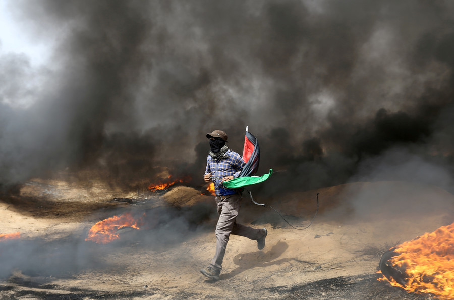 «Marche du retour» à Gaza : deux Palestiniens morts sous les tirs israéliens (PHOTOS)