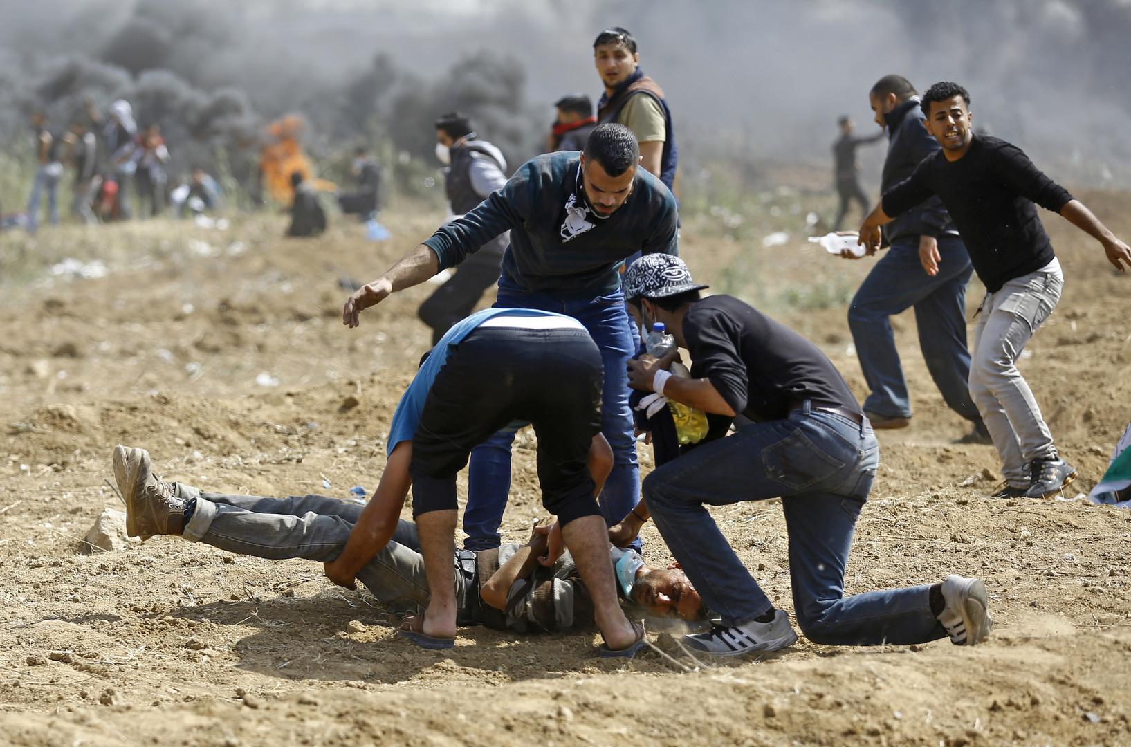«Marche du retour» à Gaza : trois Palestiniens morts sous les tirs israéliens (PHOTOS)