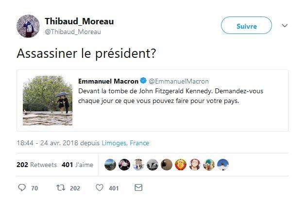 Un responsable de l'Unef appelle à «assassiner» le président Emmanuel Macron