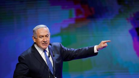 Benjamin Netanyahou, le 27 mars à Tel Aviv, illustration