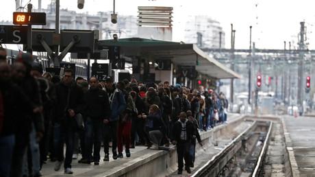 Sur les quais de la Gare de Lyon, le 3 avril 2018. (image d'illustration)