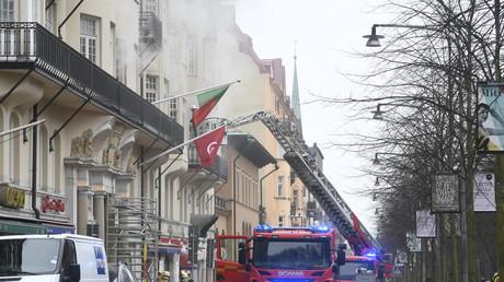 Un incendie dans un bâtiment abritant trois ambassades à Stockholm fait 14 blessés