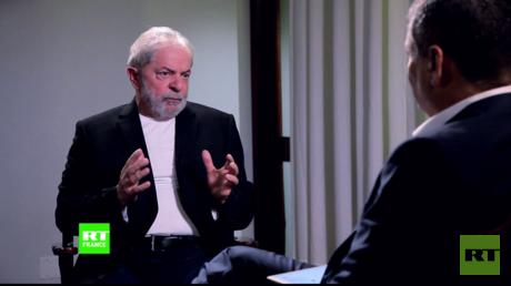 Entretien entre Lula et Correa pour RT.