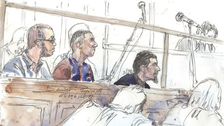 Les prévenus lunellois à la 16e chambre du tribunal correctionnel de Paris.