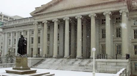 Le siège du Département du Trésor des États-Unis à Washington, photo ©Reuters