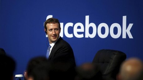 Le patron de Facebook Mark Zuckerberg