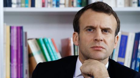 Emmanuel Macron le 5 avril 2018 à Rouen. (image d'illustration)