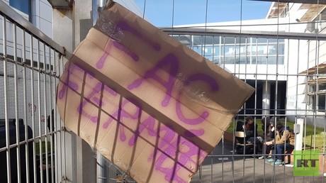 L'université Paris VIII est bloquée depuis le 3 avril par des étudiants en protestation contre la loi relative à l'orientation et la réussite des étudiants.