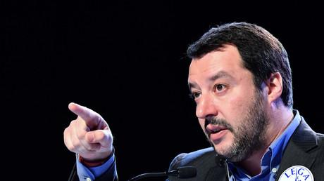 Matteo Salvini le 22 février 2018