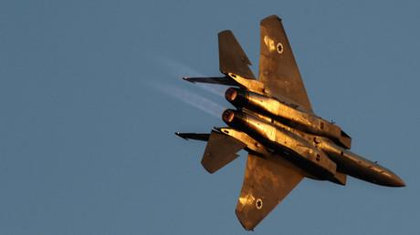 Un avion de chasse israélien F-15. (image d'illustration)