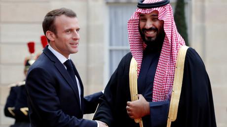 Emmanuel Macron et Mohamed Ben Salmane