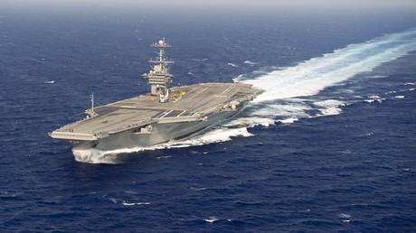 Le porte-avion USS Harry S. Truman a été déployé pour une mission au Moyen-Orient
