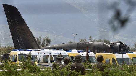Crash d'un avion militaire en Algérie : les premières images de l'épave (VIDEO)