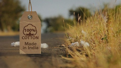 100 % cotton. Made in India