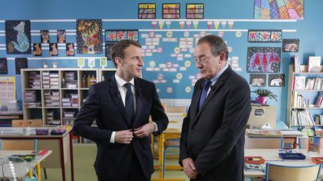 Emmanuel Macron a été interviewé par Jean-Pierre Pernaut le 12 avril