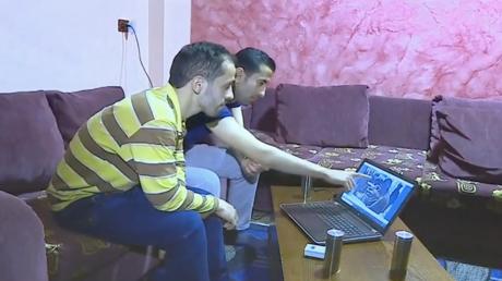 Des témoins présents à l'hôpital de Douma lors de l'attaque chimique présumée du 7 avril 2018, capture d'écran RT France